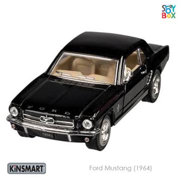 Слика на Ford Mustang (1964), die-cast, 1:36, L= 13 cm (Black)