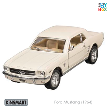 Слика на Ford Mustang (1964), die-cast, 1:36, L= 13 cm (White)