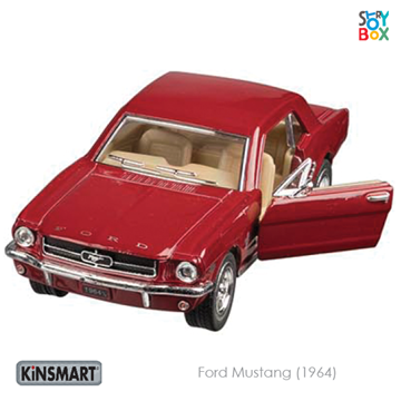 Слика на Ford Mustang (1964), die-cast, 1:36, L= 13 cm (Red)